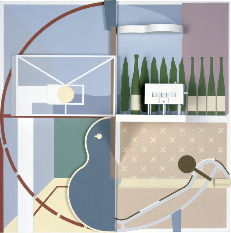 Anthony Ames: Object-Type Landscapes Exhibition at Le Corbusier-designed Casa Curutchet, Anthony Ames, Garden Pavilion, 1990