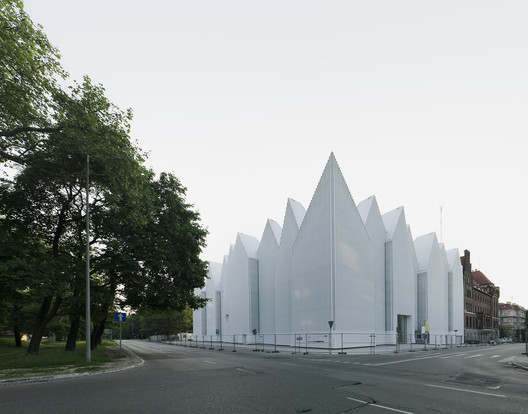 Philharmonic Hall Szczecin. Image © Simon Menges