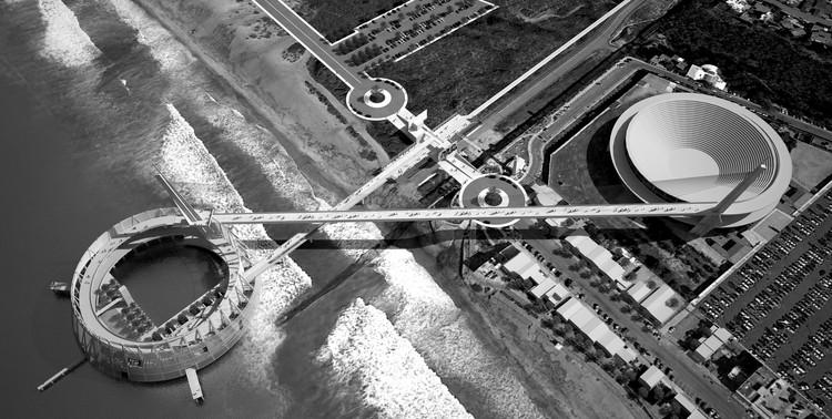 Vista aérea. Imagen cortesía de Patrick Cordelle