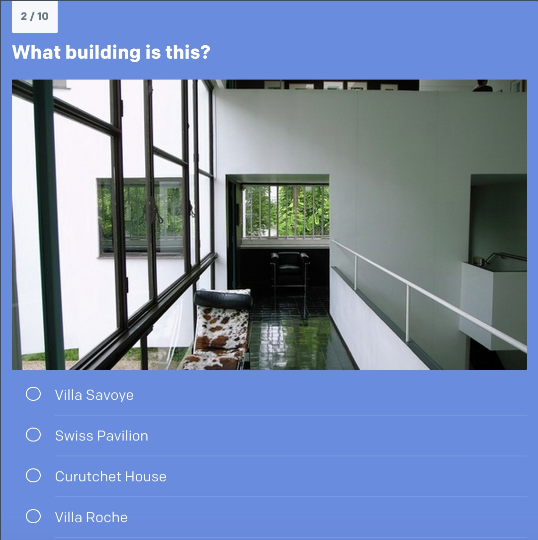 Ad quiz guess the le corbusier building archdaily for Corbusier sessel 00 schneider
