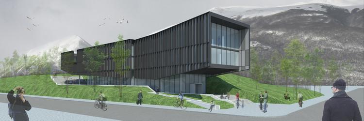 'Proa al Beagle', la propuesta de Iglesis Arquitectos para el nuevo Centro Subantártico Cabo de Hornos, Cortesía de Iglesis Arquitectos