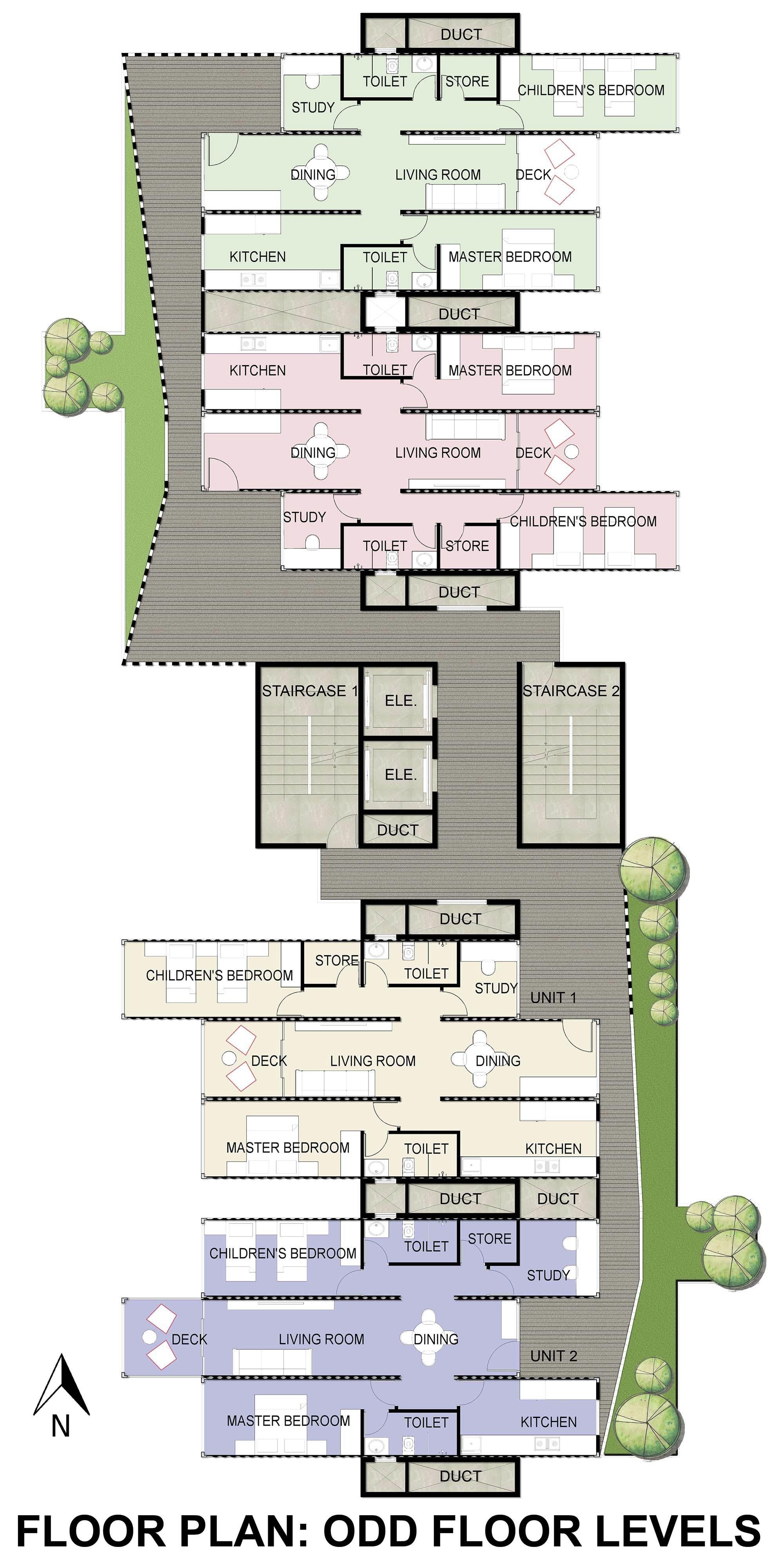 55db3ef4e58ece585f000005 Ga Designs Radical Shipping Container Skyscraper For Mumbai Slum Image on Floor Designs