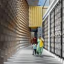 Corridor . Image Courtesy of GA Design