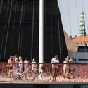 Olafur Eliasson, Cirkelbroen (The circle bridge), 2015. Christianshavns Kanal, Copenhagen. Photo: Anders Sune Berg. A gift from Nordea-fonden to the city of Copenhagen.