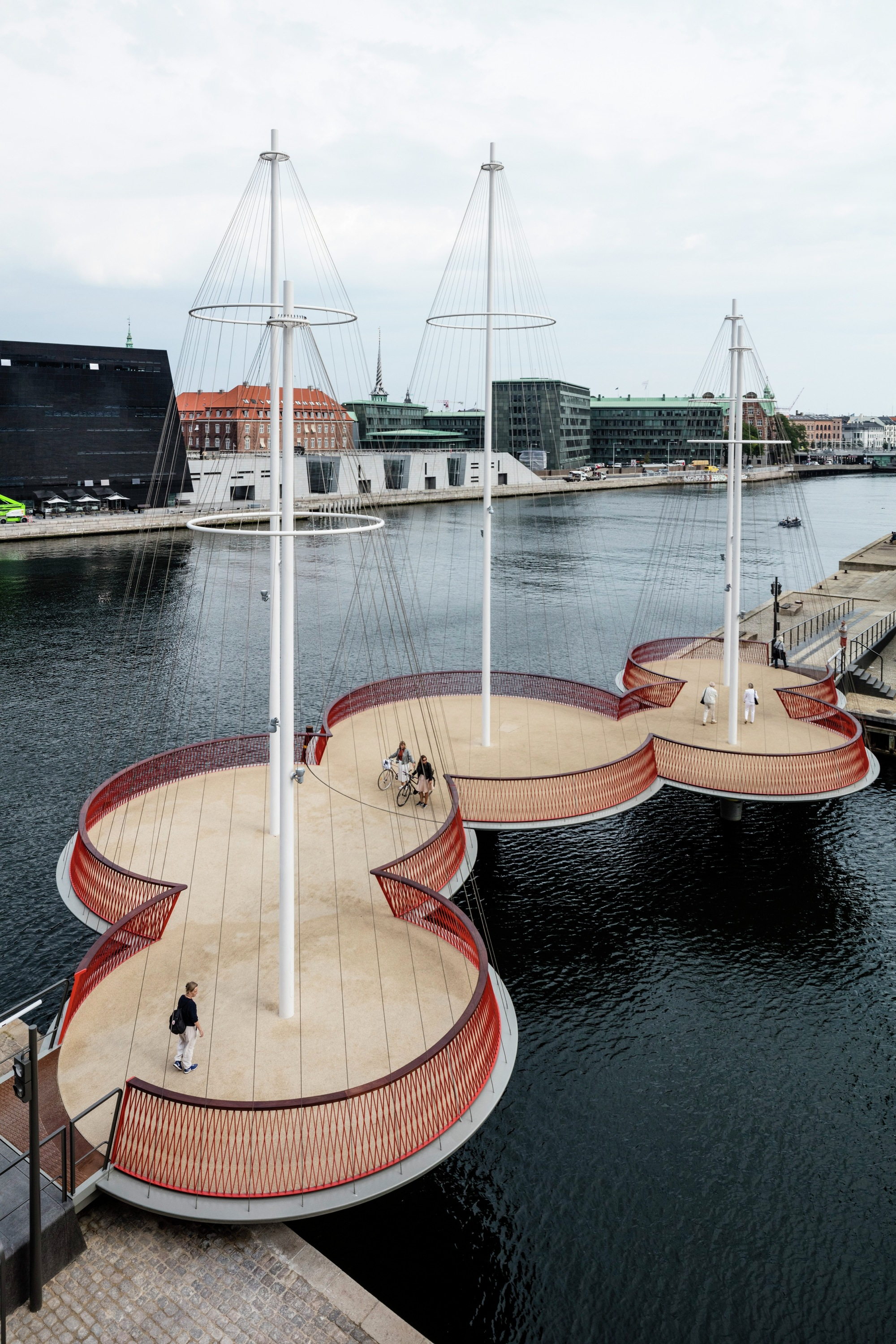 cirkelbroen bridge studio olafur eliasson archdaily. Black Bedroom Furniture Sets. Home Design Ideas