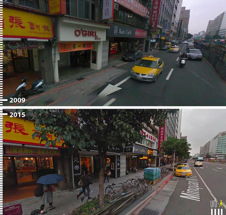 Minquen W Rd, Taipei, Taiwan. Image Courtesy of Urb-I