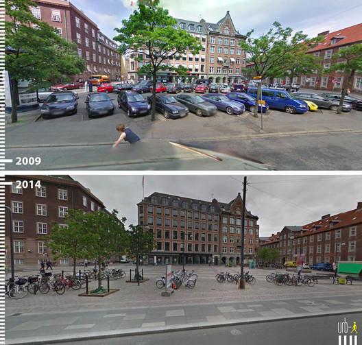 Regnbuepladsen, Copenhague, Dinamarca. Cortesia de Urb-I