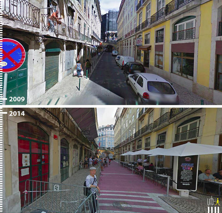R Nova do Carvalho, Lisbon, Portugal. Image Courtesy of Urb-I