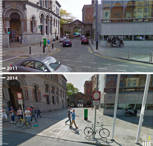 Palace St., Dublin, Irlanda. Cortesia de Urb-I