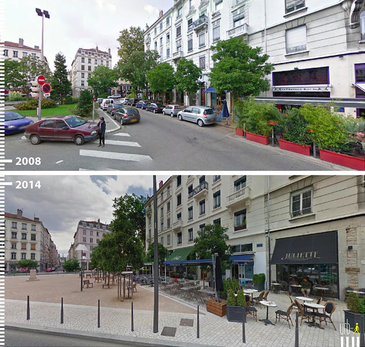 Avenue General Brosset, Lyon, France. Image Courtesy of Urb-I