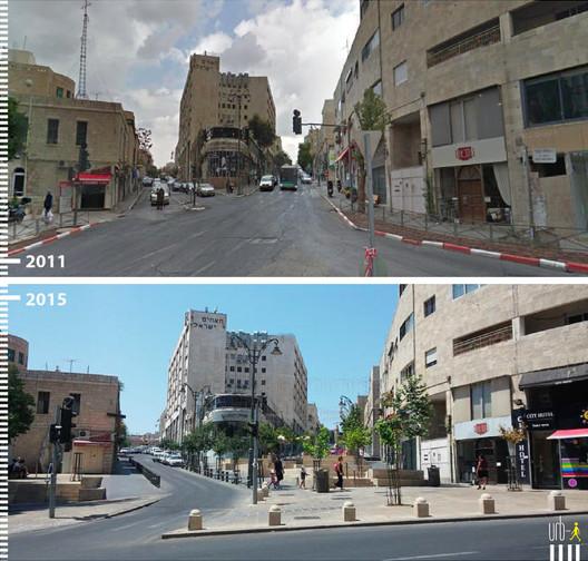 Shlomtsiyon HaMalka, Jerusalém, Israel.Cortesia de Urb-I