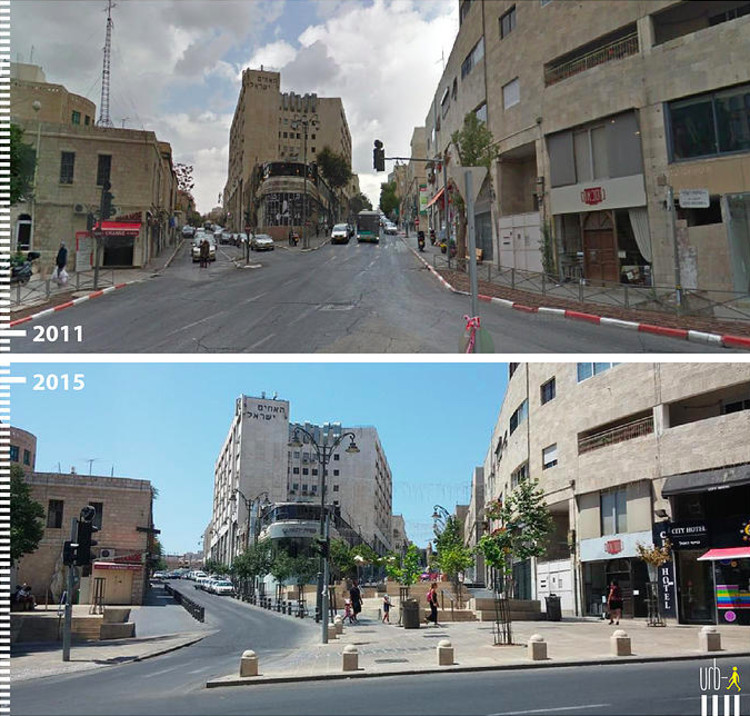 Shlomtsiyon HaMalka, Jerusalem, Israel. Image Courtesy of Urb-I