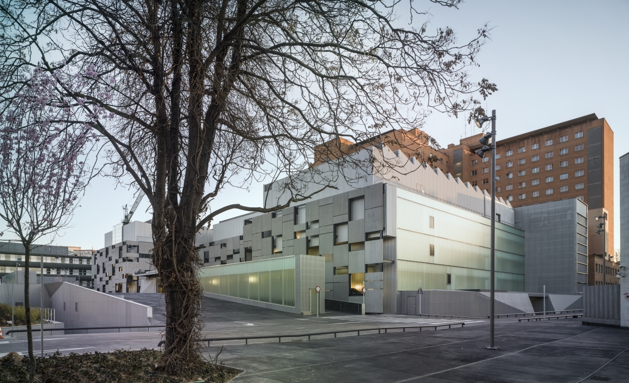 Gallery of university hospital of valladolid pardo tapia - Arquitectos valladolid ...