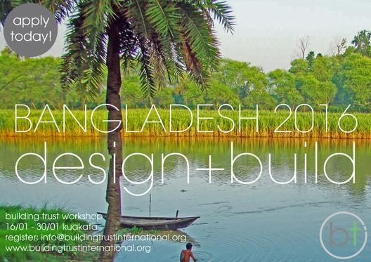 Cyclone Housing Design + Build Workshop, Bangladesh, 2016 - Apply today!