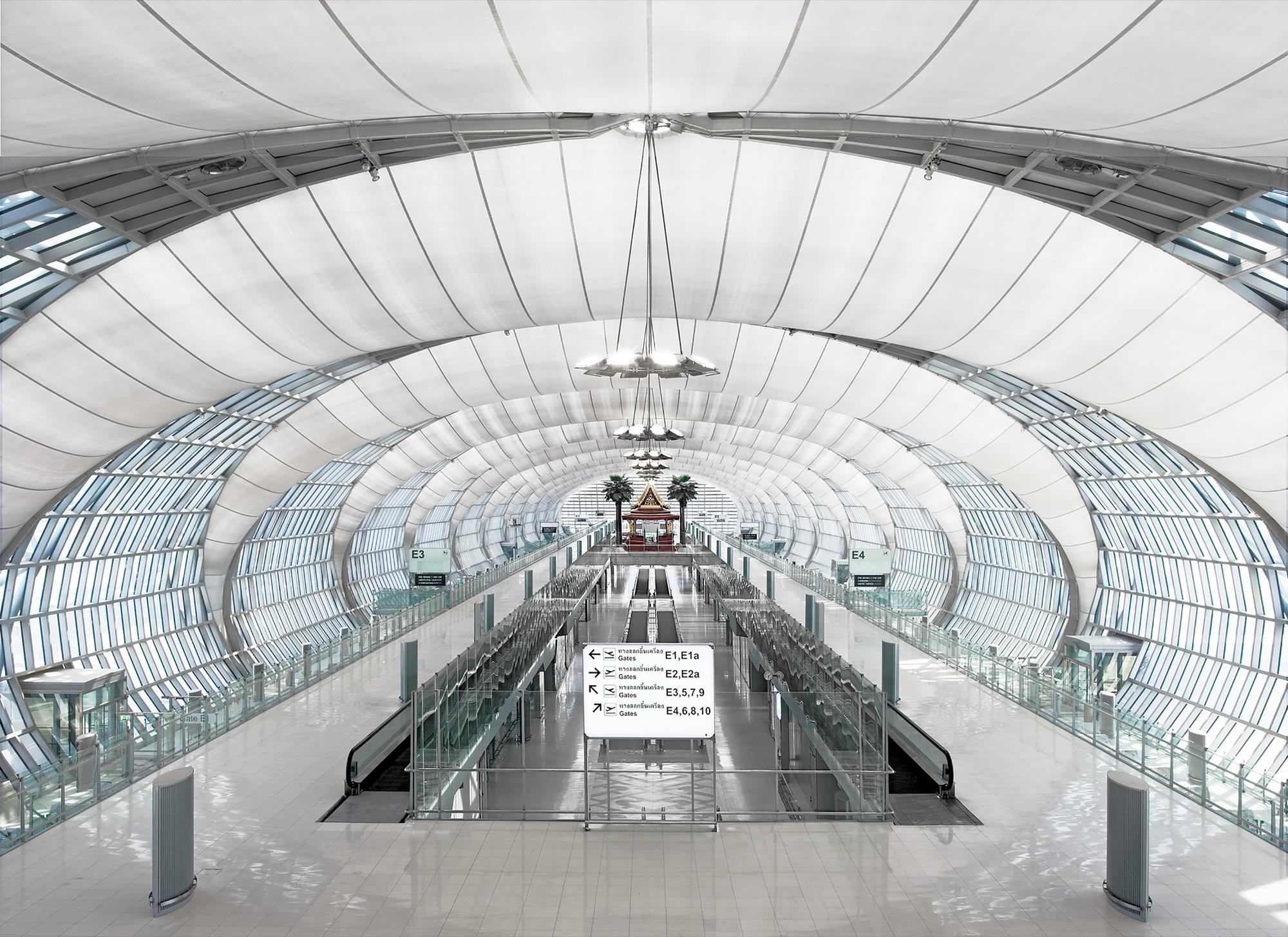 Passenger Terminal Complex Suvarnabhumi Airport Jahn