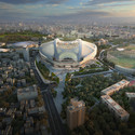 © Zaha Hadid Architects. Image by Methanoia