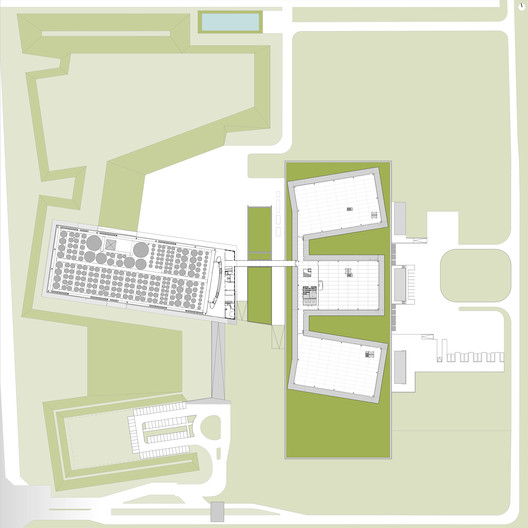 Ground floor plan for Winery floor plans by architects