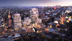 "Images Revealed of Frank Gehry's ""Gateway to Sunset Strip"""