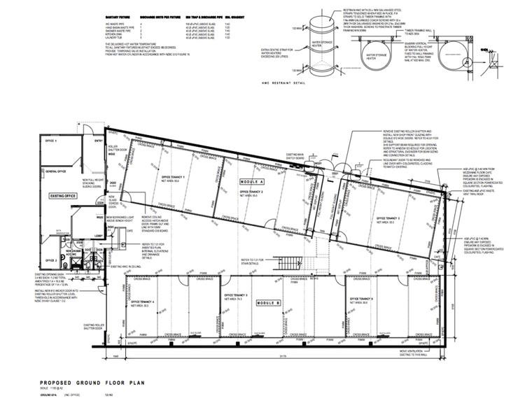 Planta propuesta primer piso