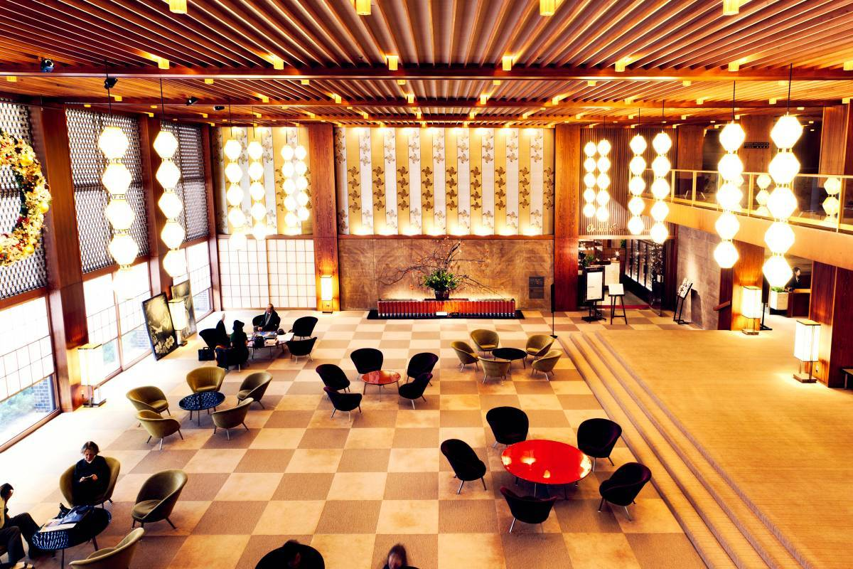 Lamenting the loss of hotel okura one of tokyo 39 s for Hotel design ce