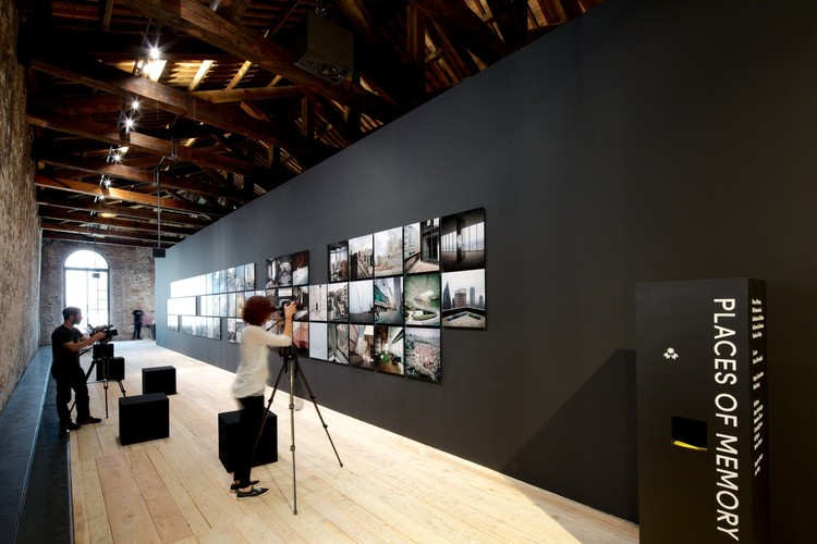 "From the Pavilion of Turkey at the 2014 Venice Biennale, ""Places of Memory"". Image © Nico Saieh"