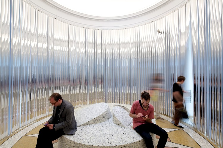 The U.S. Pavilion from the 2014 Venice Biennale. Image © Nico Saieh