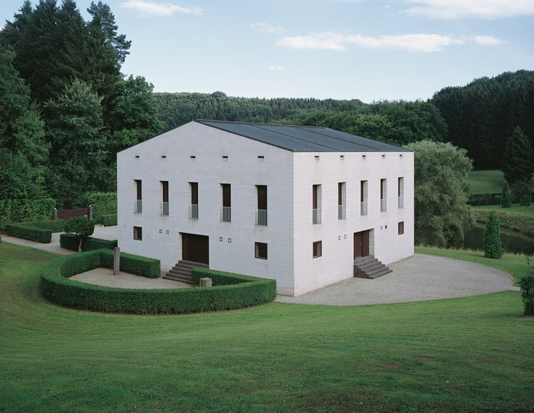 Exhibition: Palladian Design: The Good, the Bad and the Unexpected, Glashutte, France by Oswald Mathias Ungers, 1985 (c) Stefan Mueller