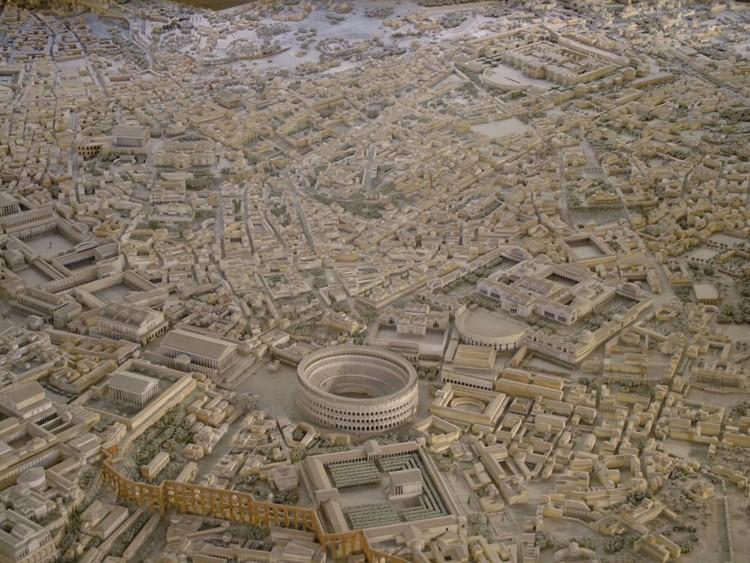 Maqueta de la ciudad de Roma. Image