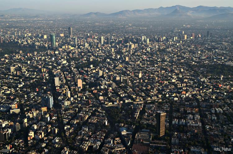 Foto aérea de la Ciudad de México. Image