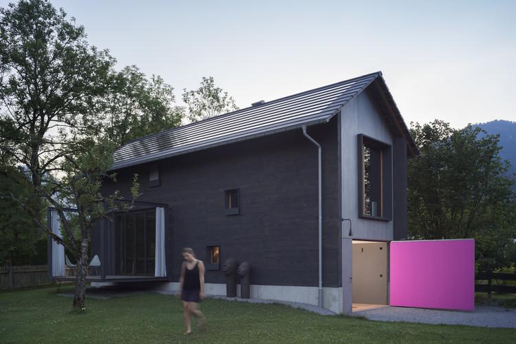Holzhaus am Auerbach / Arnhard & Eck, © Florian Holzherr