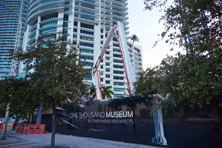 Construction begins on zaha hadid 39 s one thousand museum in for 1000 museum miami floor plans