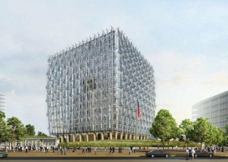 Nueva embajada de Estados Unidos, diseñada por Kieran Timberlake