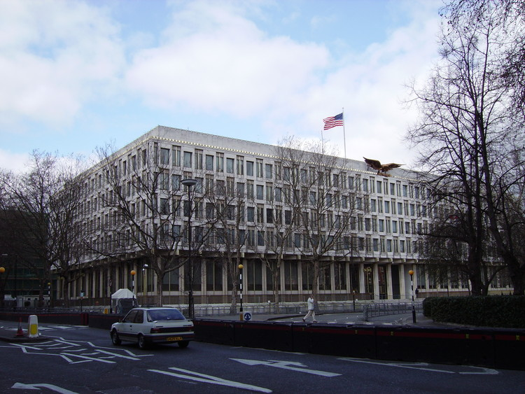David Chipperfield es seleccionado para remodelar la actual embajada de Estados Unidos en Londres, via Wikimedia (dominio público)
