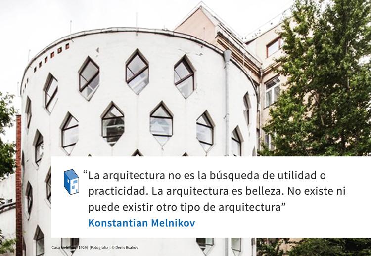Frases: Konstantian Melnikov y la belleza