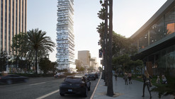 PAR Reinterprets Courtyard Housing with Los Angeles Skyscraper
