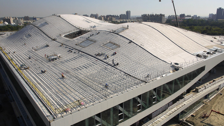 In Progress: National Kaohsiung Center for the Arts / Mecanoo, Courtesy of Mecanoo