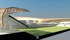 En Construcción Noticias: Presentación Anteproyecto Estadio Municipal de Calama / Judson & Olivos Arquitectos
