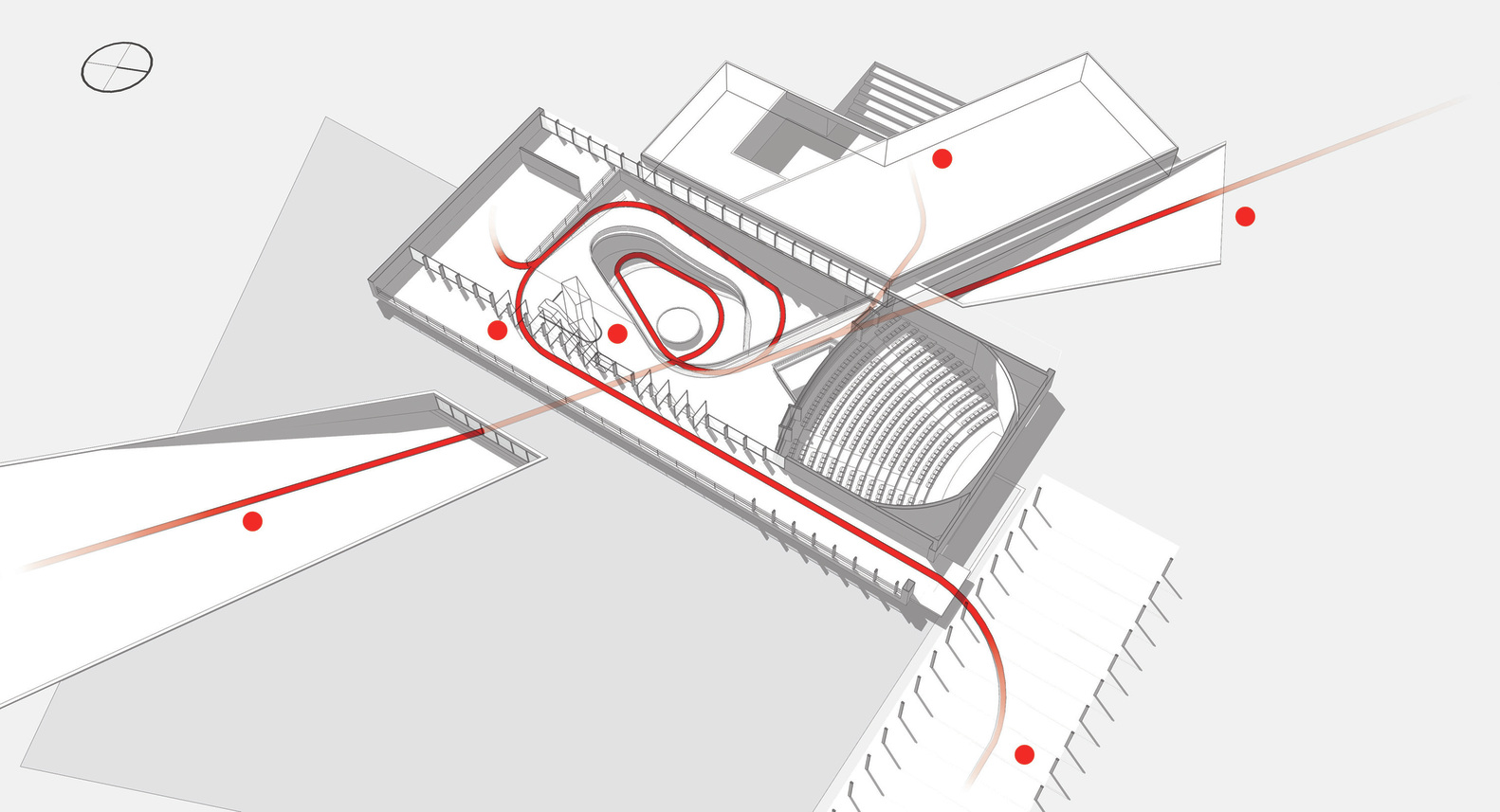 Architecture diagram circulation the for Architectural concepts circulation
