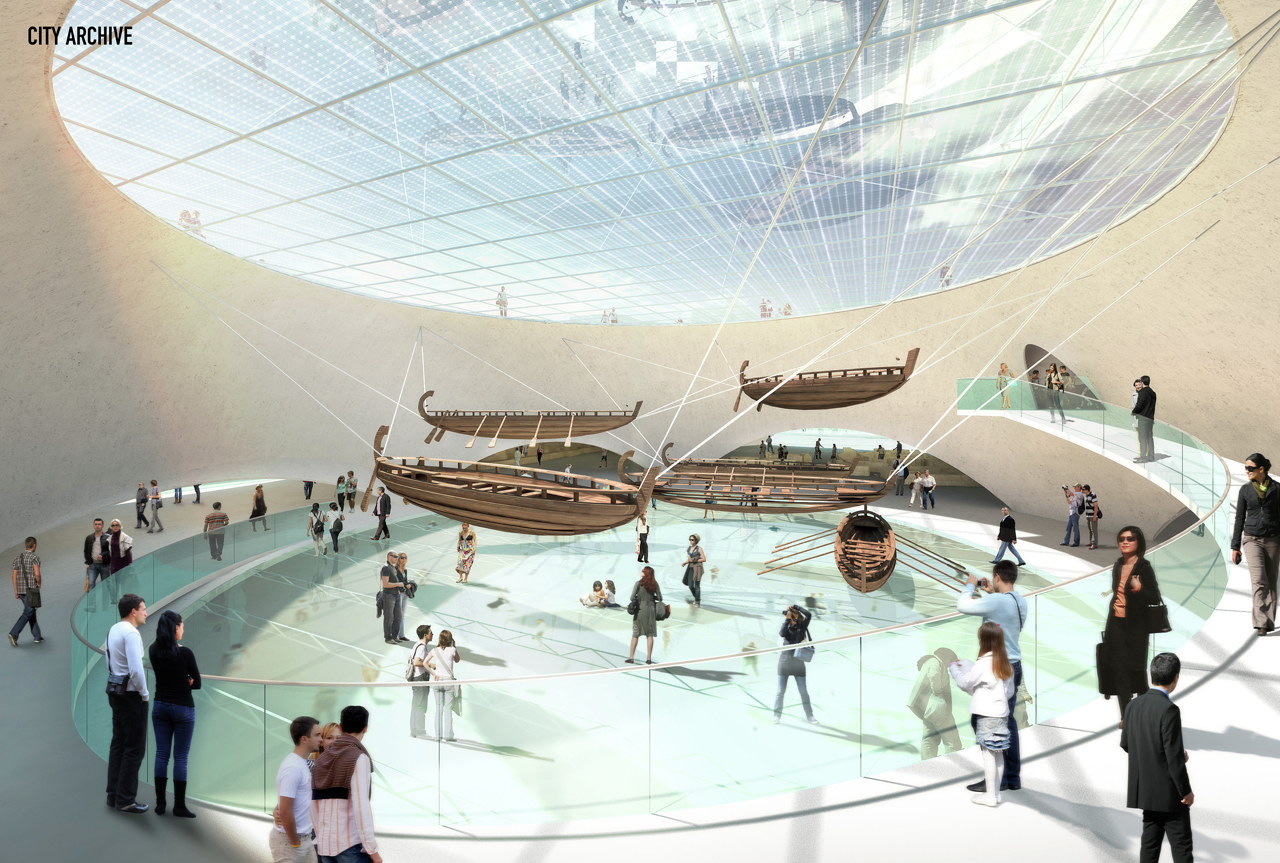 Gallery of Yenikapı Transfer Point and Archaeo-Park ...