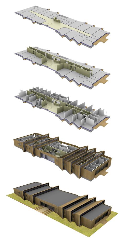 Modelo 3D explotado