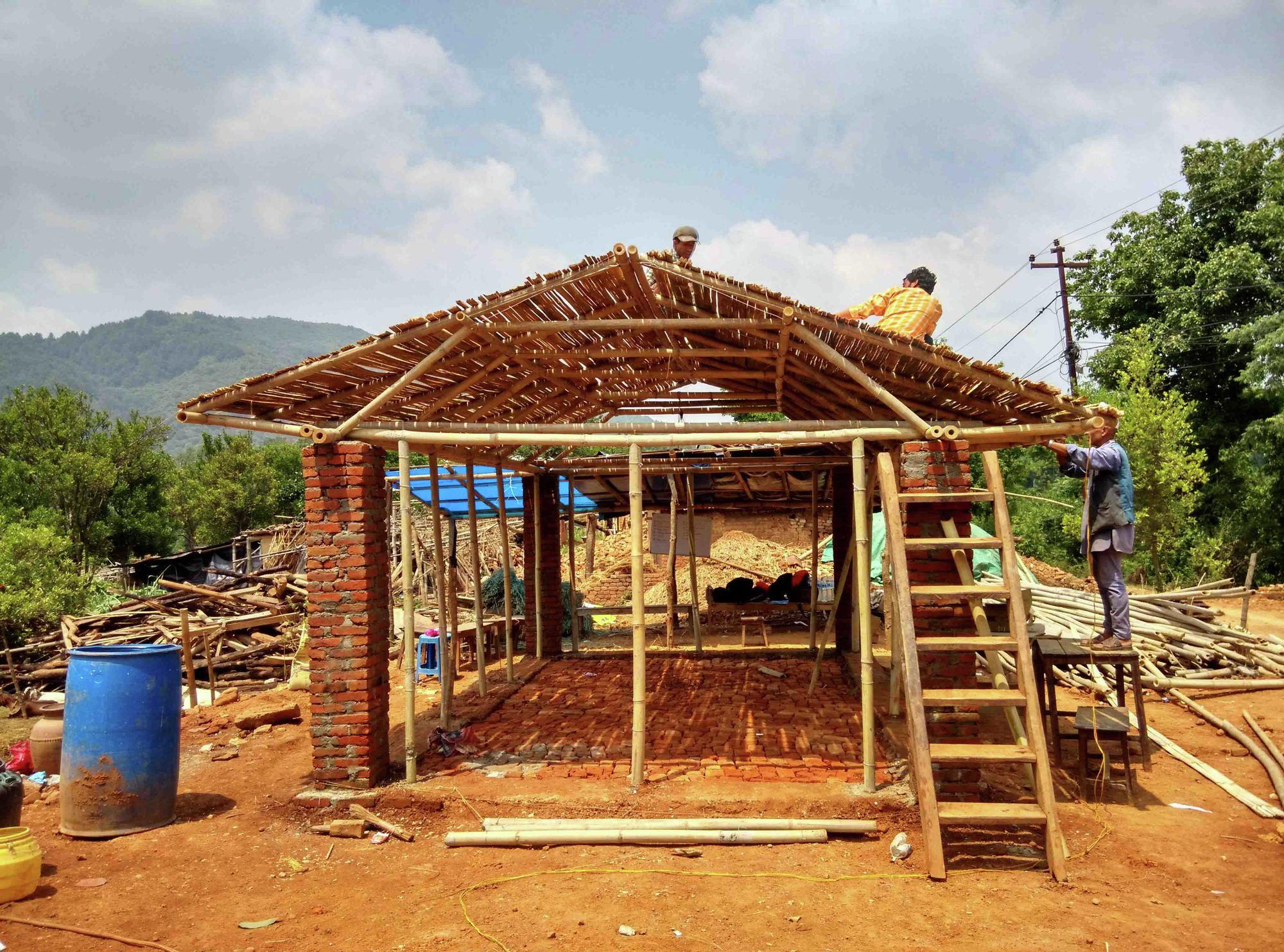 Prototipos de vivienda en bamb para nepal por rootstudio for Aulas web arquitectura