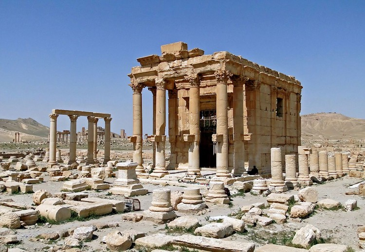 Harvard and Oxford Take On ISIS with Digital Preservation Campaign, Temple of Baalshamin. Image © Bernard Gagnon via Wikipedia