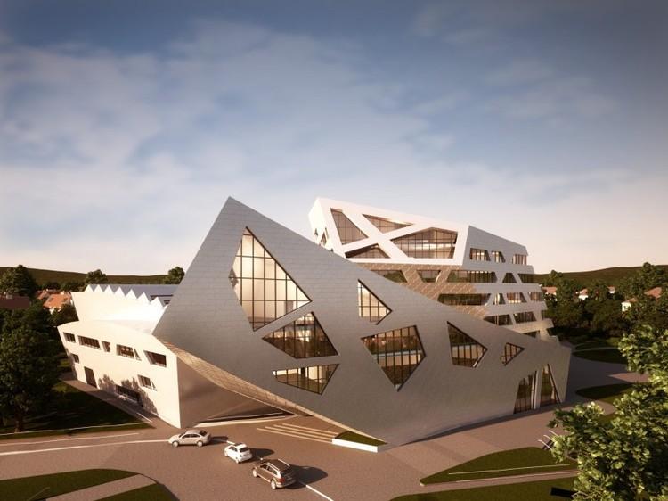 luneburg university 39 s libeskind building daniel. Black Bedroom Furniture Sets. Home Design Ideas