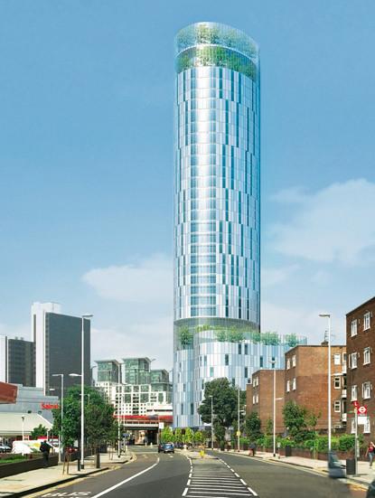 Carey Jones's Vauxhall Cross Eco-Tower