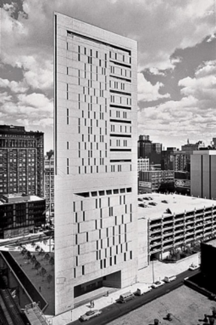 Weese's Metropolitan Correctional Center PHOTOGRAPH: COURTESY OF THE WEESE FAMILY