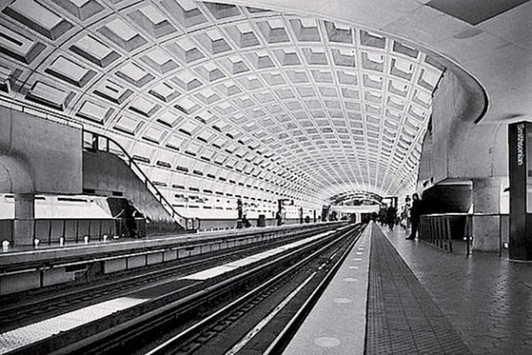 Metro in Washington, D.C. PHOTOGRAPH: COURTESY OF THE WEESE FAMILY