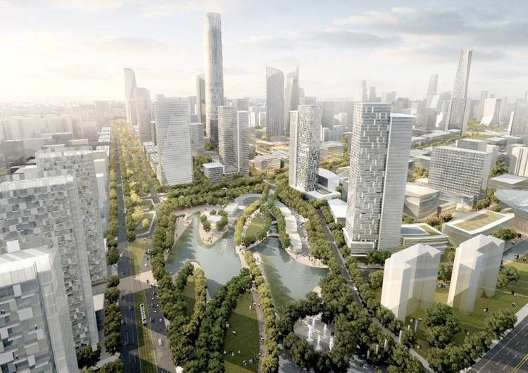Chaoyang North District © SOM
