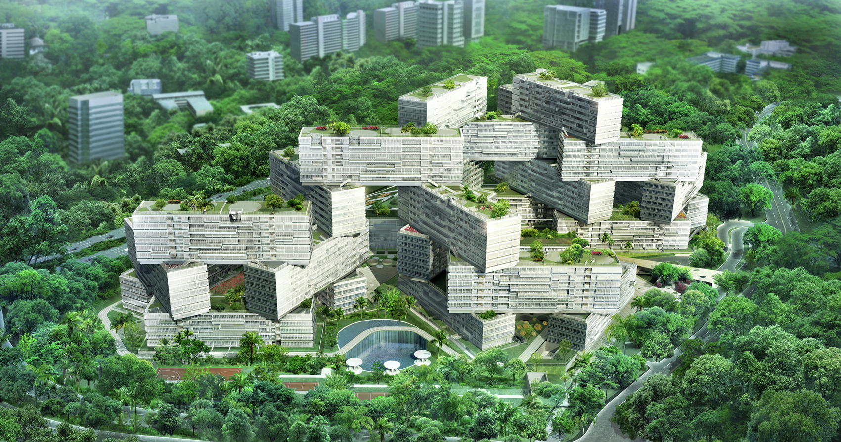 Gallery Of The Interlace Oma 5