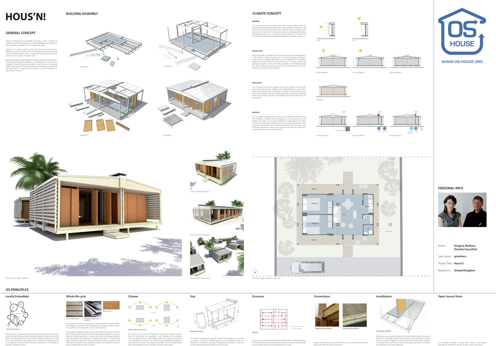 Winners Of Open Source Housing Competition Archdaily