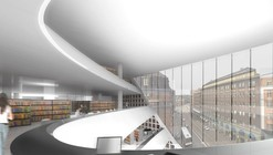 The University of Helsinki City Campus Library / Anttinen Oiva arkkitehdit